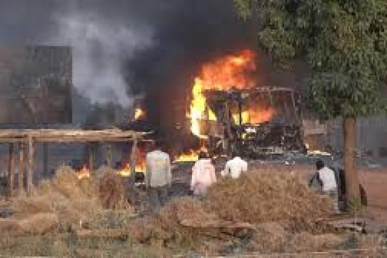 Drame : L'explosion d'un car fait au moins 6 morts au Burkina Faso