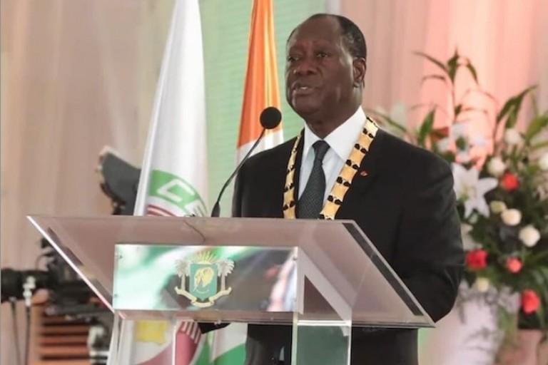 Alassane Ouattara : « Président de la République... Je mesure l'ampleur de cette charge »