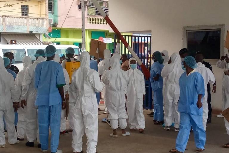 Grève au CHU de Yopougon en pleine réhabilitation
