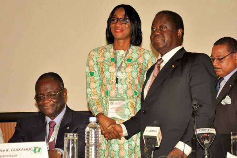PDCI: Qui est Cyrielle Obré, remplaçante de Djénébou Zongo auprès d'Henri Konan Bédié?