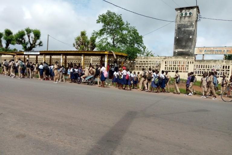 Agboville: Des élèves perturbent les cours pour les congés de Noël