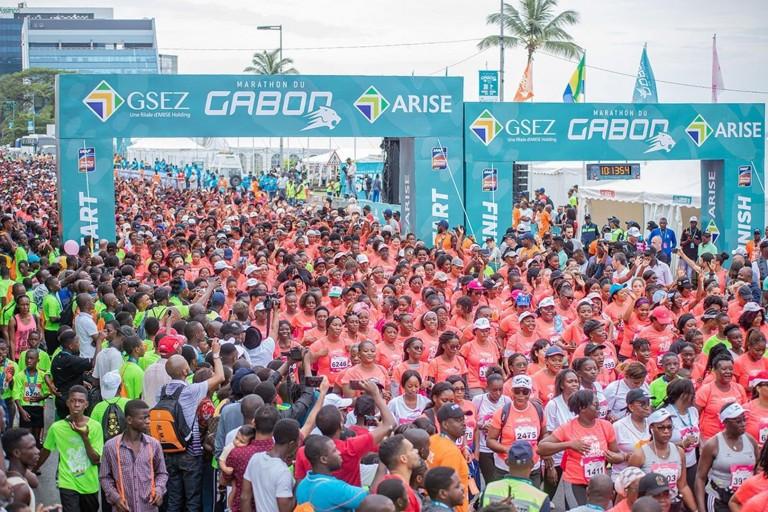 Le Coronavirus fait reporter la 8ème édition du Marathon du Gabon