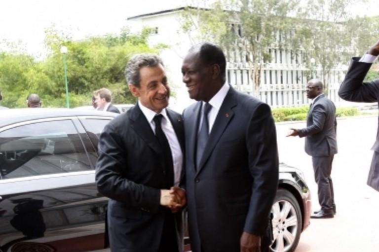 Nicolas Sarkozy - Ouattara, amis jusqu'au bout