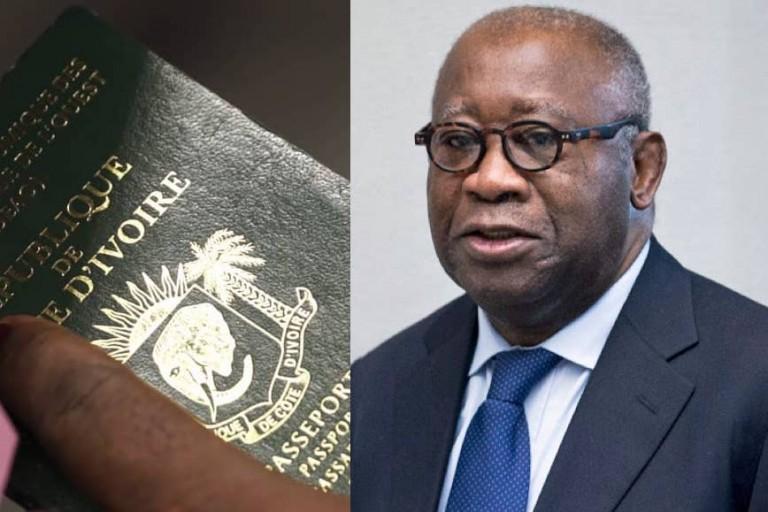 Le Passeport de Laurent Gbagbo lui a été remis