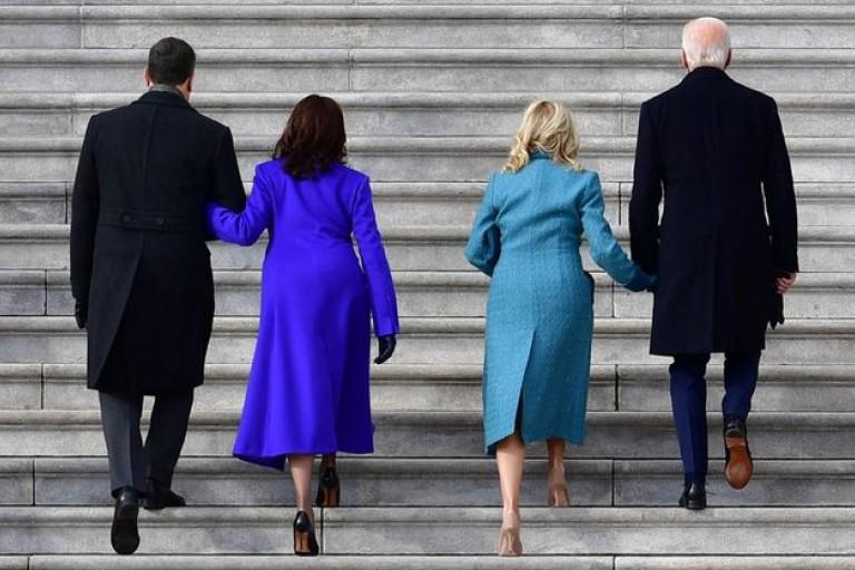 Capitole: Mode by Ladies à l'investiture de Biden
