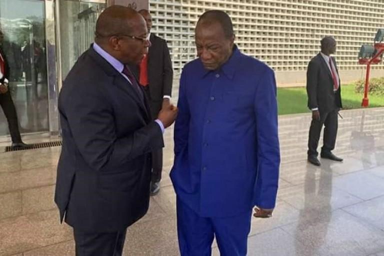 Guinée : Le gouvernement remet sa démission à Alpha Condé