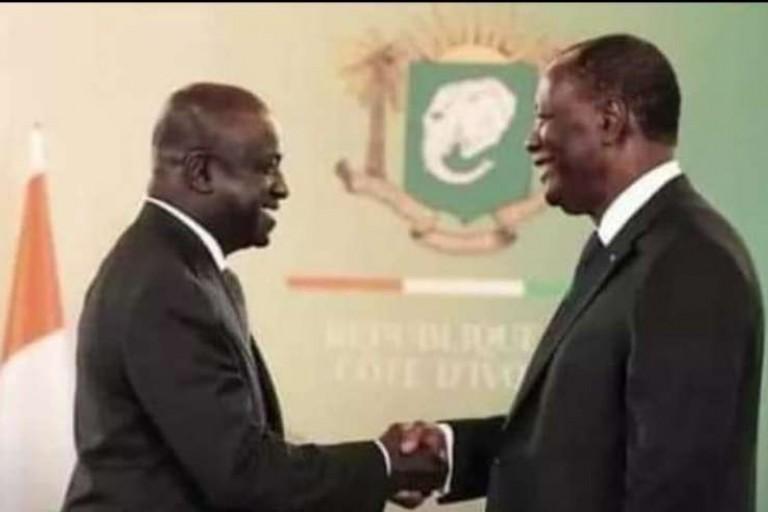 Marcel Amon-Tanoh toujours prêt à servir le président Ouattara