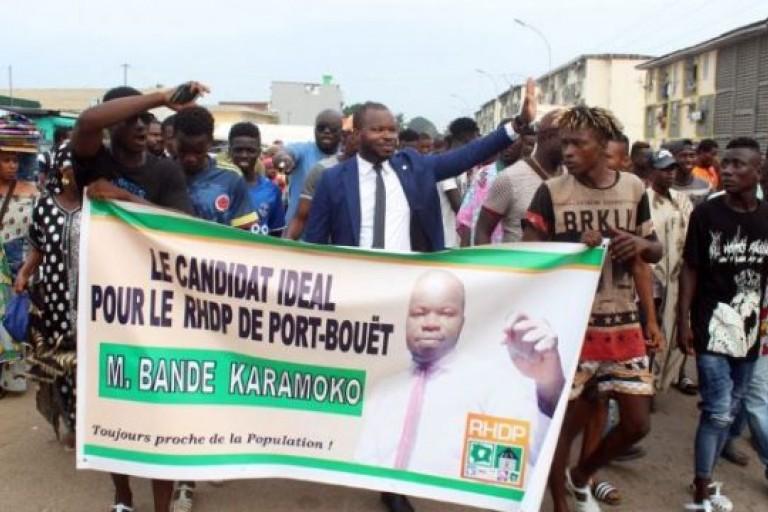 Législatives 2021 :  Les militants RHDP de Port-Bouët choisissent Bandé Karamoko