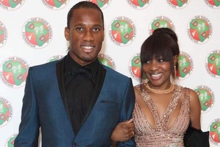 Didier Drogba et Gabrielle Lemaire ou le scandale du love caché
