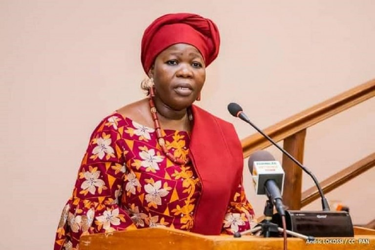 Mariam Chabi Talata sera la colistière de Patrice Talon à la présidentielle béninoise du 11 avril 2021