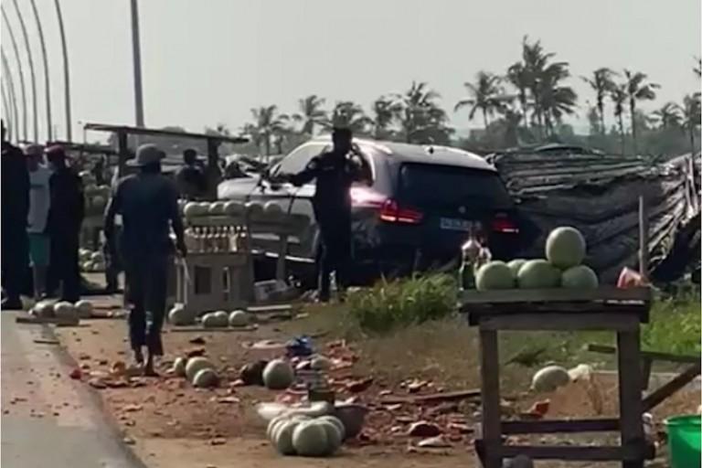 Un véhicule du cortège du Pdt Ouattara impliqué dans un accident