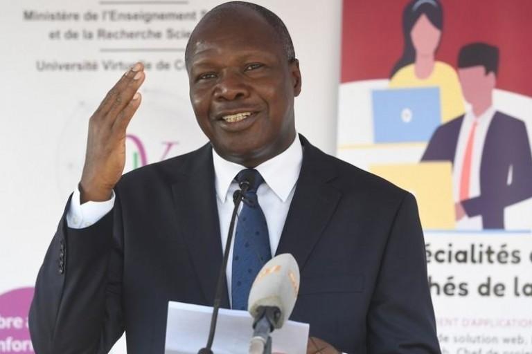 Albert Mabri Toikeusse, le président del'UDPCI