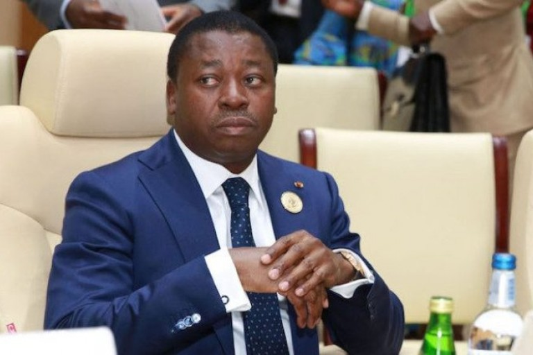 Le président togolais Faure Gnassingbé lors d'un sommet