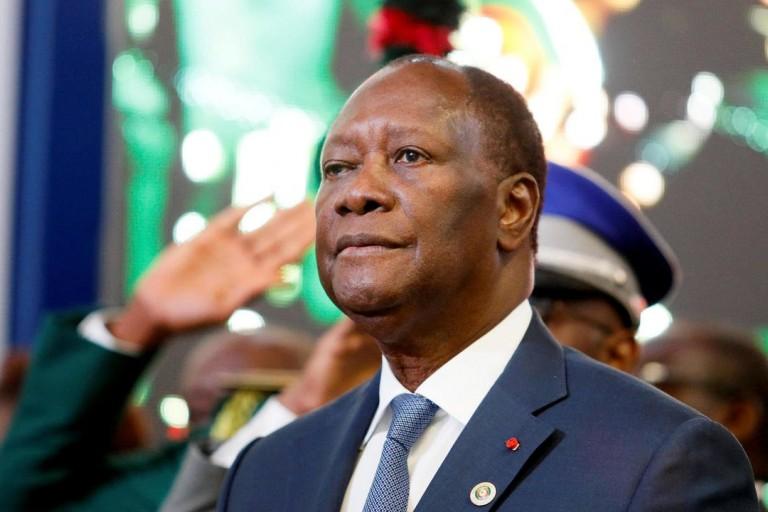 Le président Alassane Ouattara et le RHDP inconsolables