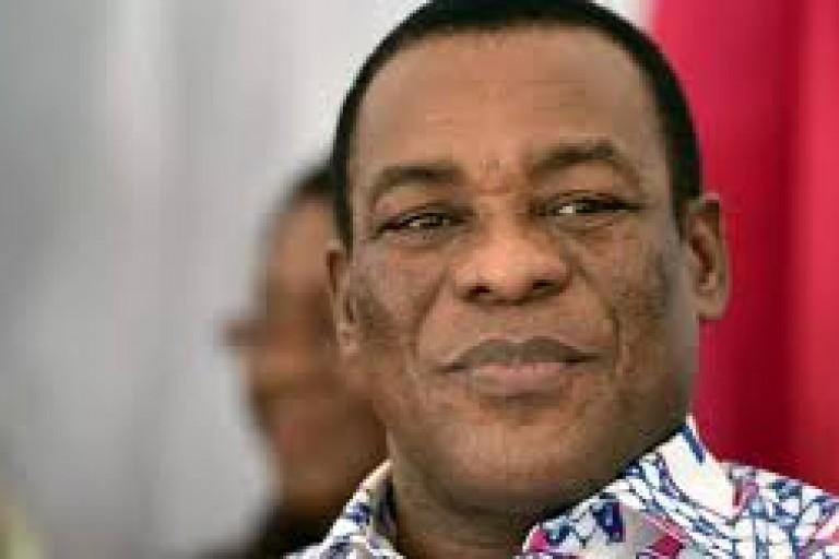 Affi N'guessan, président du Front populaire ivoirien (FPI)