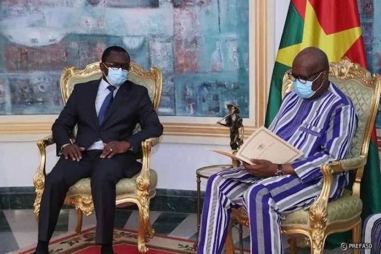 Pour Jacques Anouma, ADO dépêche Danho Paulin auprès de Kaboré