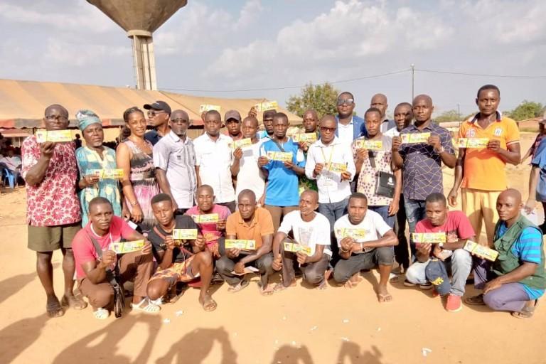 Des opportunités d'emploi offertes à des jeunes à Agboville