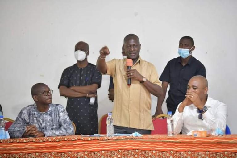 Adama Bictogo, directeur exécutif du Rassemblement des houphouétistes pour la démocratie et la paix(RHDP)