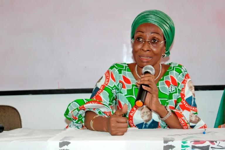 la ministre Bakayoko-Ly a souligné l'importance de l'électorat féminin