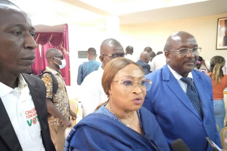 Salimata Porquet (CEI) à propos des législatives: « Moi, dans ma zone, celui qui gagne, c'est qu'il a gagné »