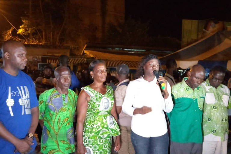 Fleur Aké M'Bo Hohonon, candidate EDS-PDCI aux législatives du 06 mars prochain
