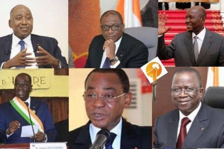 Fortunes diverses pour les présidents des Institutions ivoiriennes