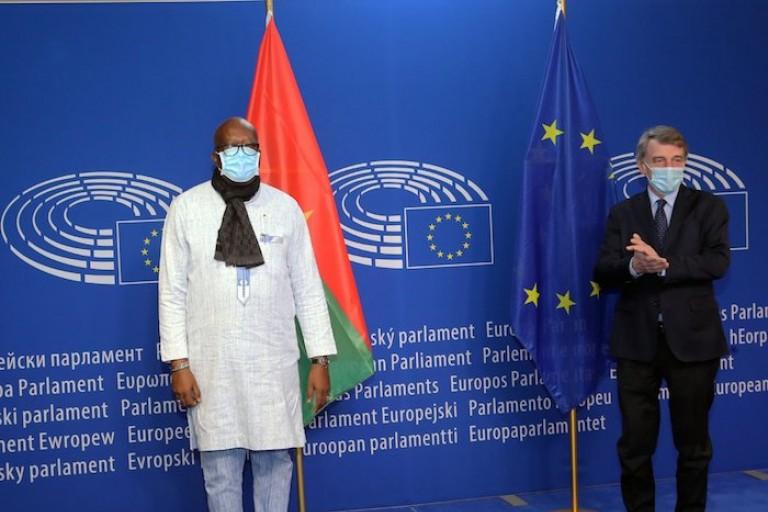À Bruxelles, Roch Kaboré multiplie les rencontres avec des personnalités européennes