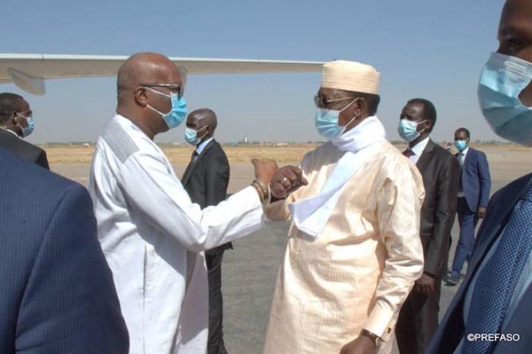 Roch Kaboré et Idriss Déby se donnent la main pour le G5 Sahel