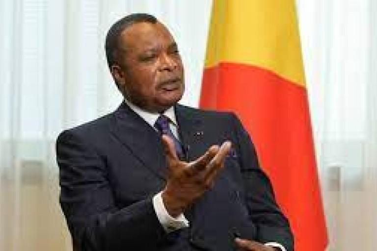 Denis Sassou N' Guesso, président du Congo -Brazzaville