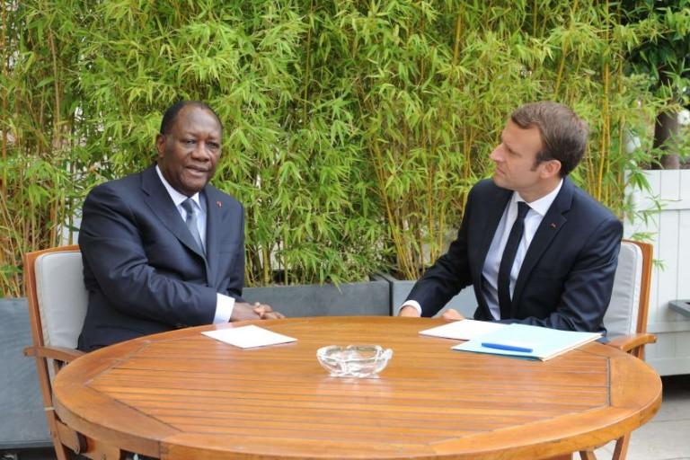 Alassane Ouattara bientôt en visite auprès d'Emmanuel Macron