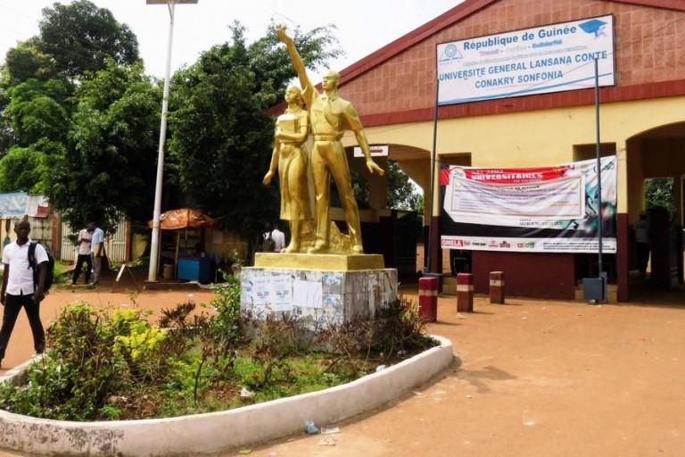 Université Lansana Conté : Un coffre-fort volé, les salaires emportés
