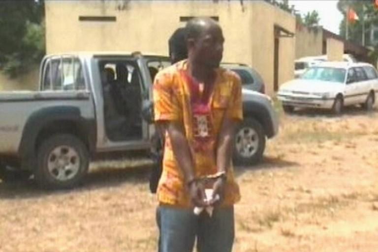 Charles Blé Goudé à la DST en Côte d'Ivoire