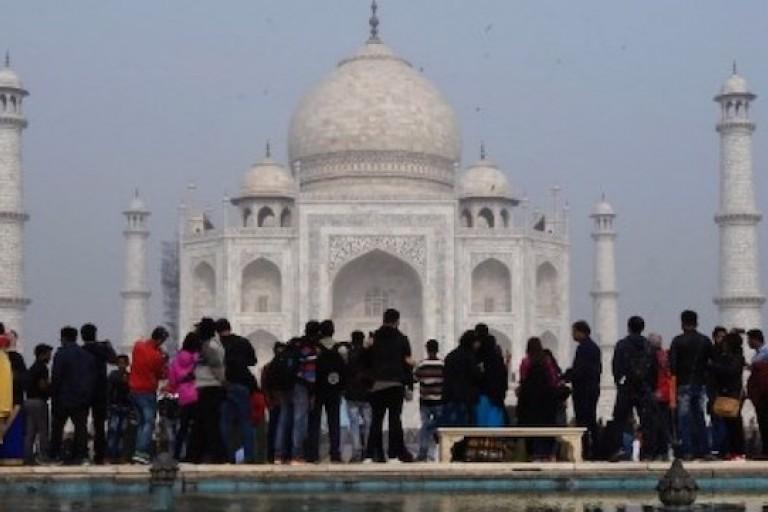 Le Taj Mahal, le monument le plus visité en Inde