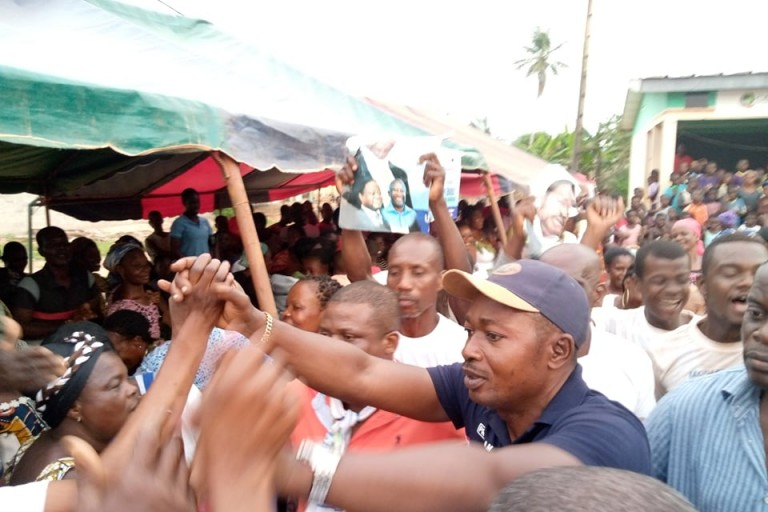 Nando M'Bolo Martin, candidat EDS-PDCI à Agboville S/p