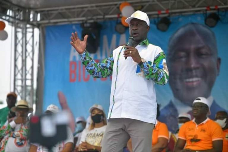 A Agboville, Adama Bictogo apelle au rassemblement: