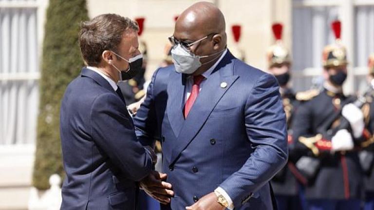 Tête-à-tête Macron-Tshisekedi: Kinshasa sollicite l'appui de la France contre ADF