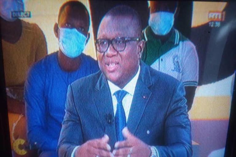 Le ministre Amadou Coulibaly illumine le plateau de C'Midi