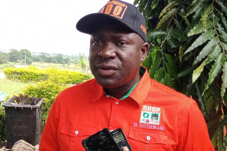 Ali Konaté, président du mouvement politique LRD Nouvelles énergies,