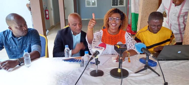 L'activiste de la société civile, Pulchérie Gbalet appelle à l'ouverture d'un dialogue politique inclusif