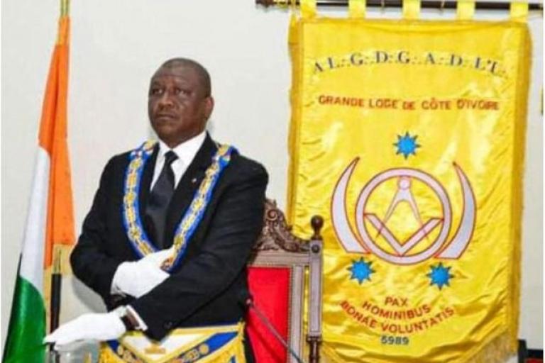 Franc-maçonnerie : Sylvère Koyo remplace Hamed Bakayoko à la GLCI
