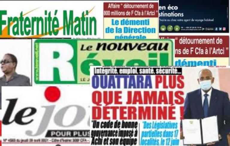Titrologie du titrologue : La une de la presse ivoirienne