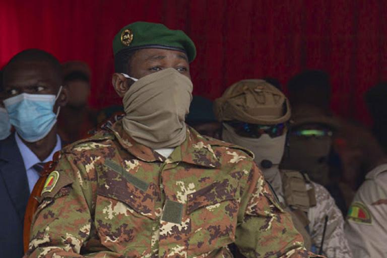 Assimi Goïta président du Mali