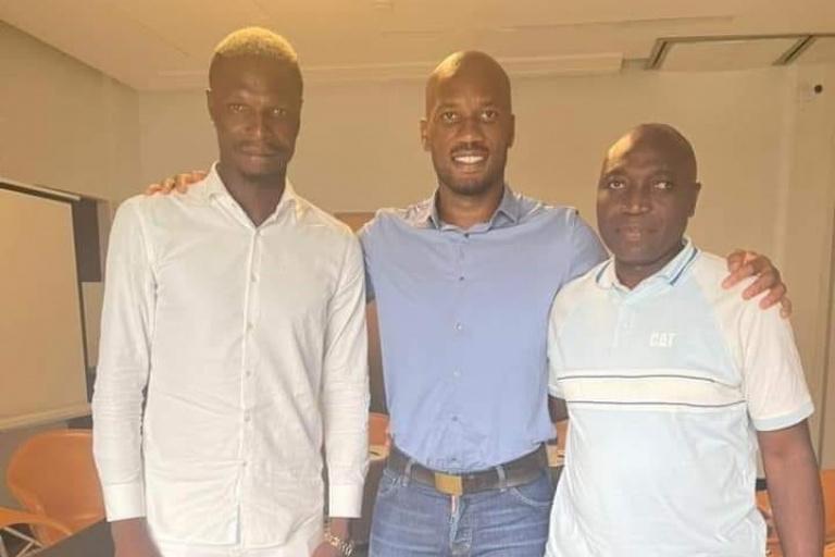 Aristide Bancé et le nouveau président du Wac demandent pardon à Didier Drogba