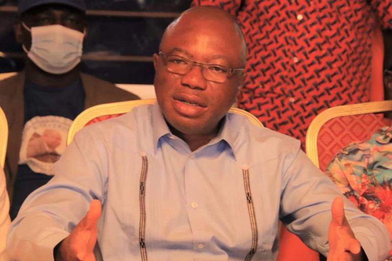Damana Pickass, cadre du parti de Laurent Gbagbo