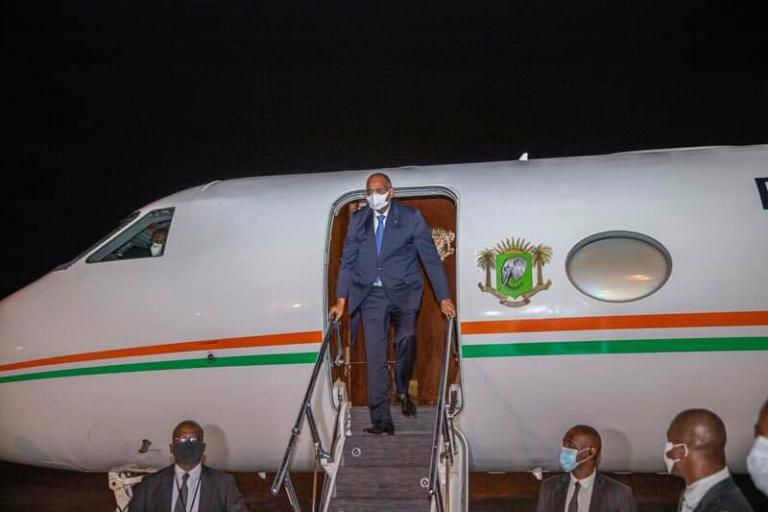 Le Premier ministre Patrick Achi de retour à Abidjan