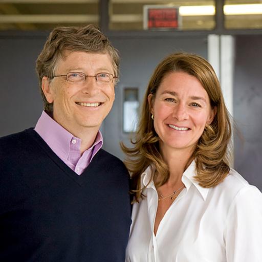 Bill et Melinda Gates