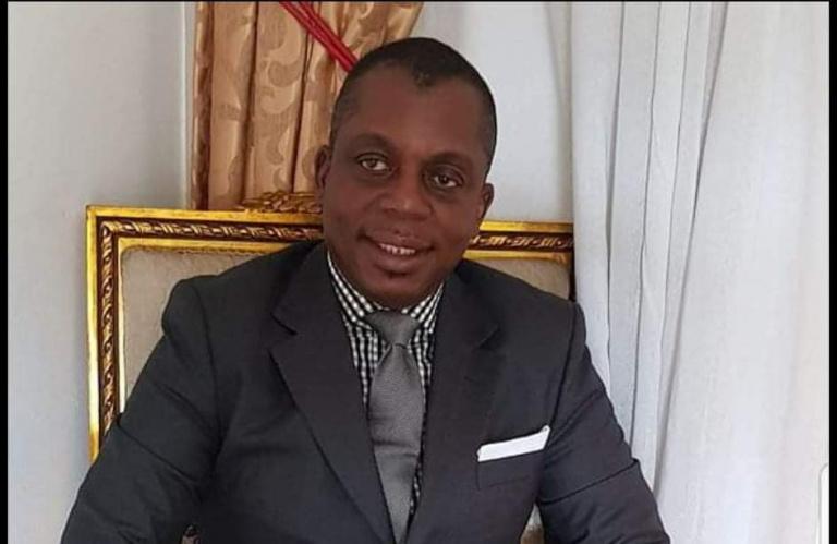 GAH Arsène, maire de la commune de Bangolo (ouest de la Côte d'Ivoire),