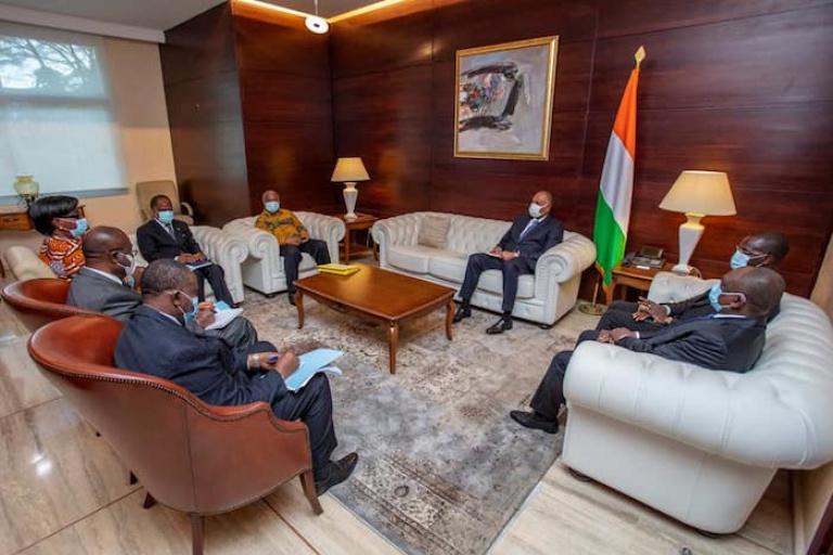 Retour de Gbagbo, Patrick Achi et Assoa Adou accordent leurs violons