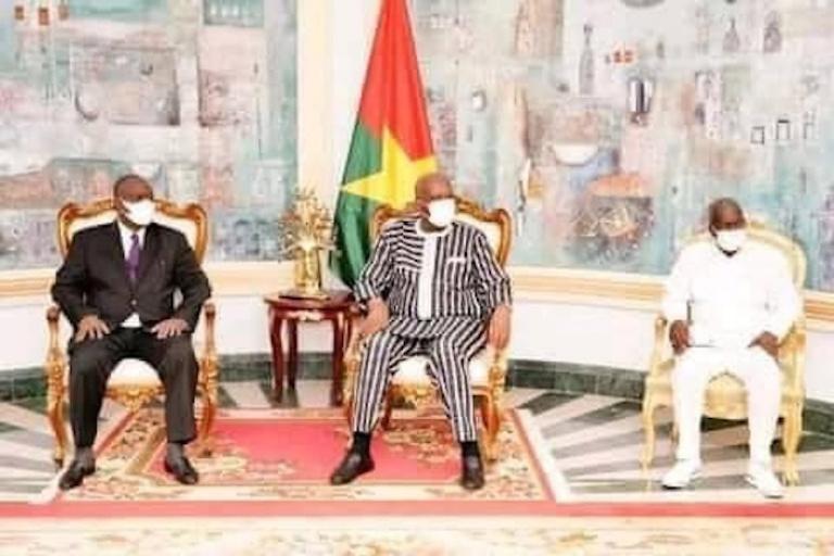 Téné Birahima Ouattara et visite de travail chez Roch Kaboré