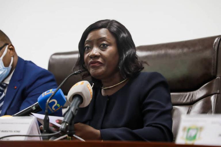BEPC 2021 :  Mariatou Koné met en garde les fraudeurs
